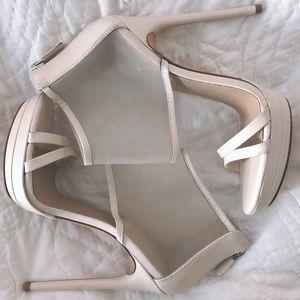 BCBGMaxAzria Leather Stilettos